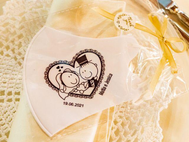 Il matrimonio di Mattia e Jessica a Carnago, Varese 44