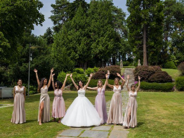 Il matrimonio di Mattia e Jessica a Carnago, Varese 46