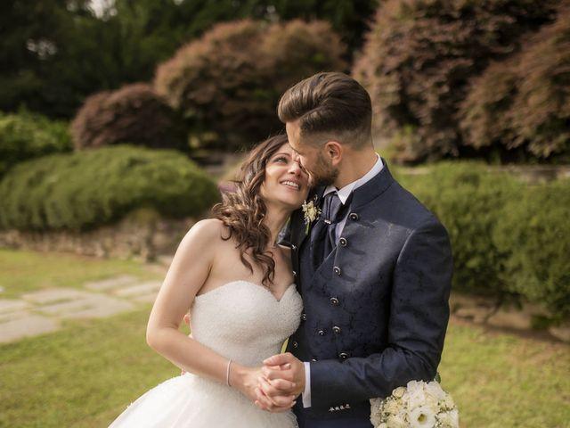 Il matrimonio di Mattia e Jessica a Carnago, Varese 57