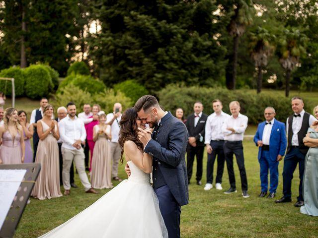Il matrimonio di Mattia e Jessica a Carnago, Varese 67