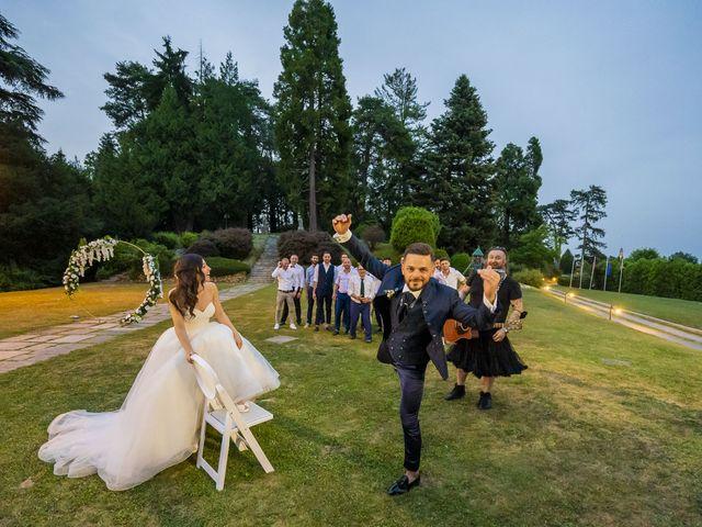 Il matrimonio di Mattia e Jessica a Carnago, Varese 71
