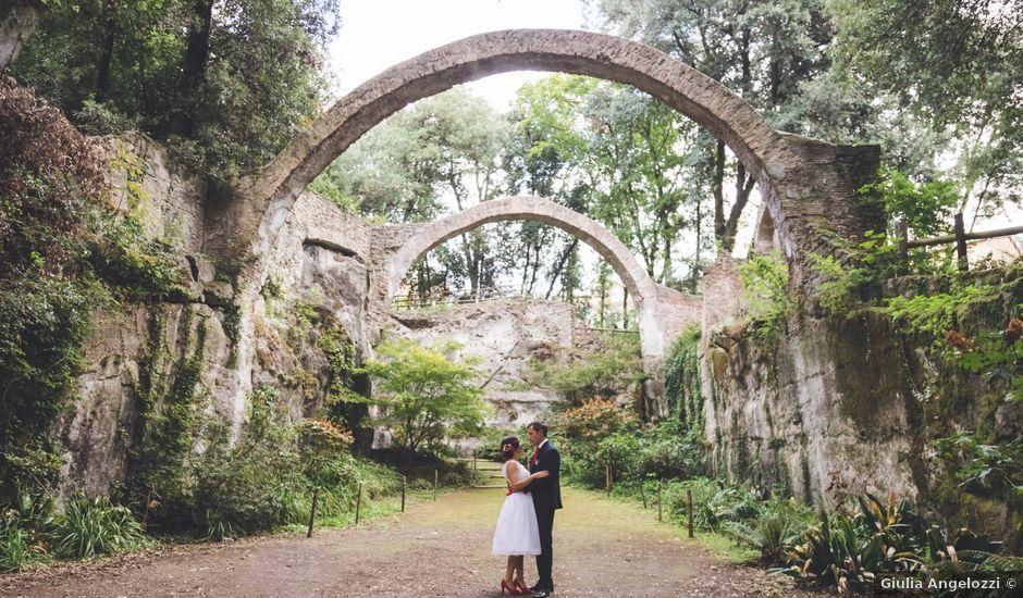 Il matrimonio di Simone e Lara a Roma, Roma