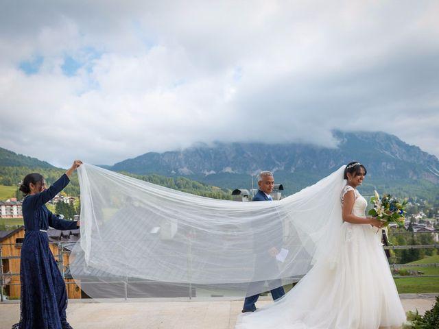 Il matrimonio di Nico e Phebe a Cortina d'Ampezzo, Belluno 80
