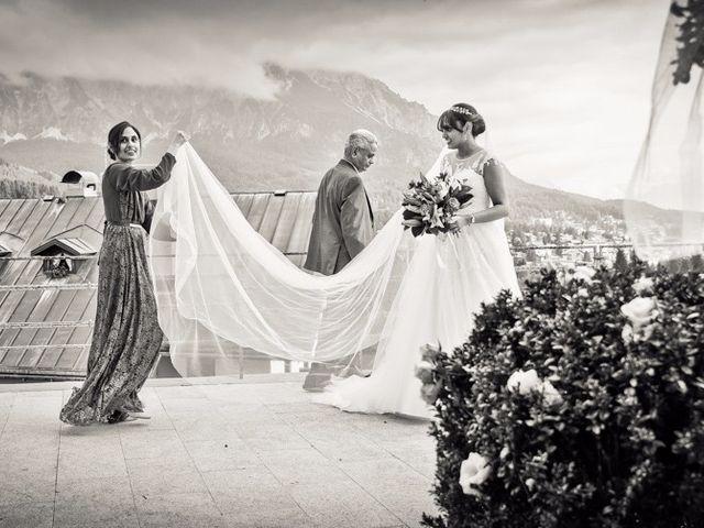 Il matrimonio di Nico e Phebe a Cortina d'Ampezzo, Belluno 81