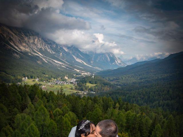 Il matrimonio di Nico e Phebe a Cortina d'Ampezzo, Belluno 112