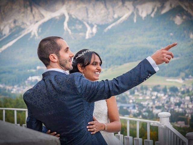 Il matrimonio di Nico e Phebe a Cortina d'Ampezzo, Belluno 114