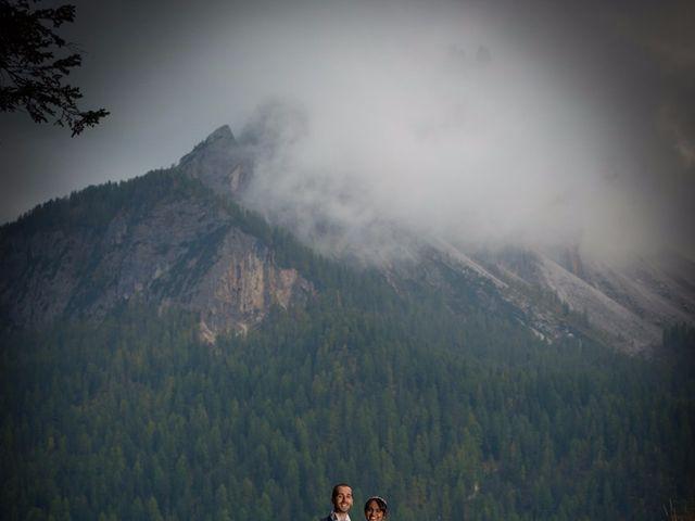 Il matrimonio di Nico e Phebe a Cortina d'Ampezzo, Belluno 143