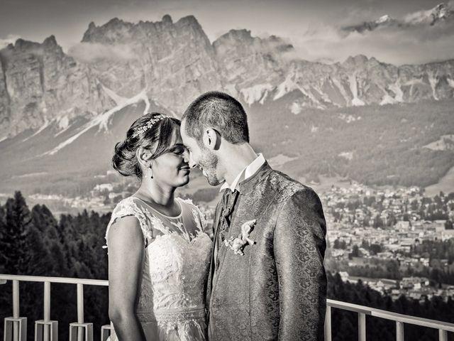 Il matrimonio di Nico e Phebe a Cortina d'Ampezzo, Belluno 150