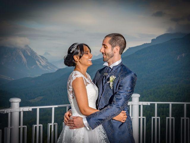 Il matrimonio di Nico e Phebe a Cortina d'Ampezzo, Belluno 151