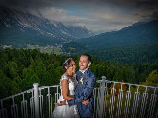 Il matrimonio di Nico e Phebe a Cortina d'Ampezzo, Belluno 152