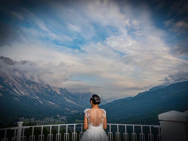 Il matrimonio di Nico e Phebe a Cortina d'Ampezzo, Belluno 154