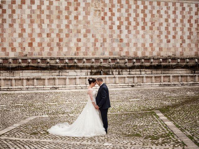 Le nozze di Chiara e Mariano
