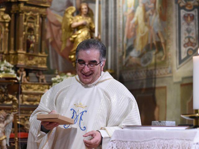 Il matrimonio di Tommaso e Chiara a Laveno-Mombello, Varese 29