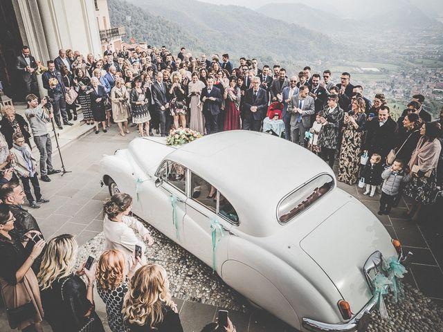 Il matrimonio di Luca e Stefania a Gandosso, Bergamo 34