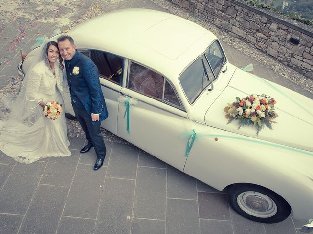 Il matrimonio di Luca e Stefania a Gandosso, Bergamo 70