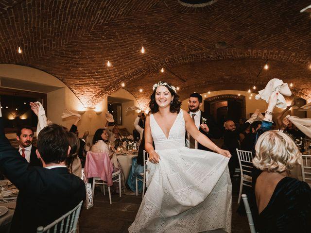Il matrimonio di Simone e Giulia a Olevano di Lomellina, Pavia 99