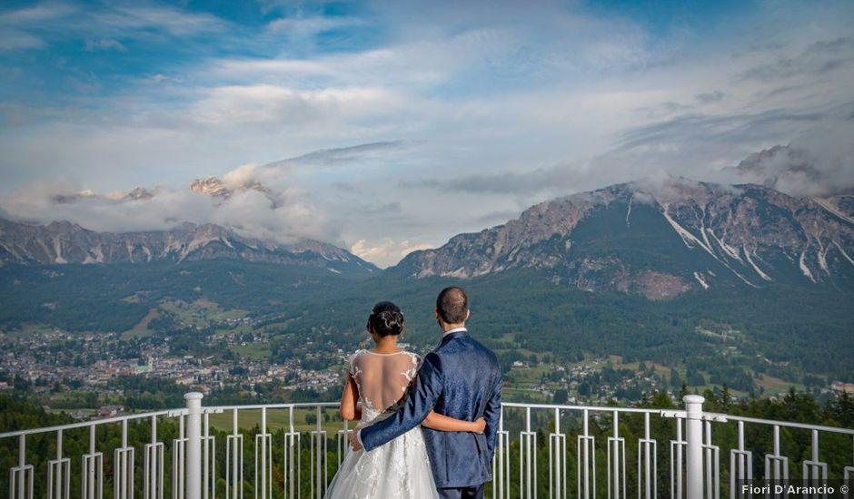 Il matrimonio di Nico e Phebe a Cortina d'Ampezzo, Belluno