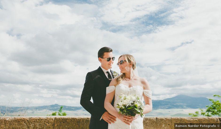 Il matrimonio di Jason e Amelia a Pienza, Siena