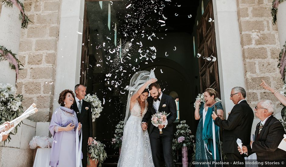 Il matrimonio di Gianluca e Marilisa a Palazzo San Gervasio, Potenza