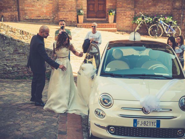 Il matrimonio di Lorenzo e Francesca a Certaldo, Firenze 45