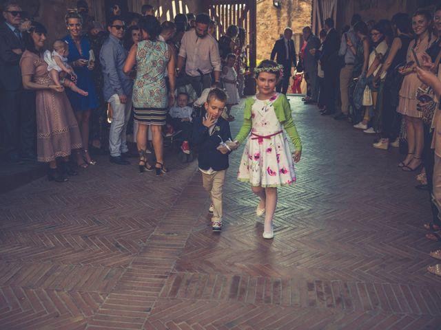 Il matrimonio di Lorenzo e Francesca a Certaldo, Firenze 49