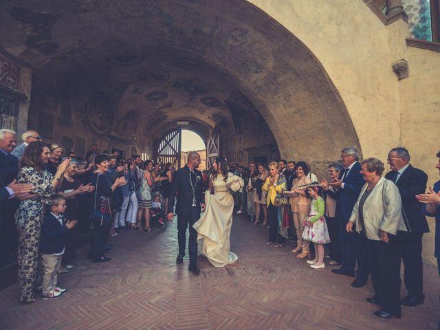 Il matrimonio di Lorenzo e Francesca a Certaldo, Firenze 52