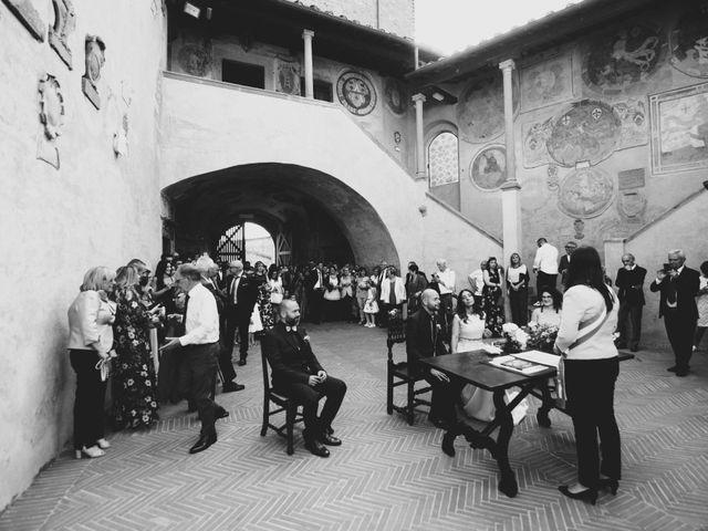 Il matrimonio di Lorenzo e Francesca a Certaldo, Firenze 53