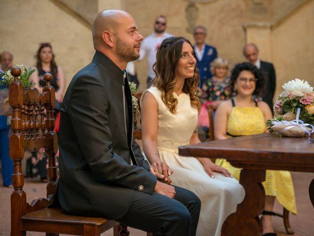 Il matrimonio di Lorenzo e Francesca a Certaldo, Firenze 55