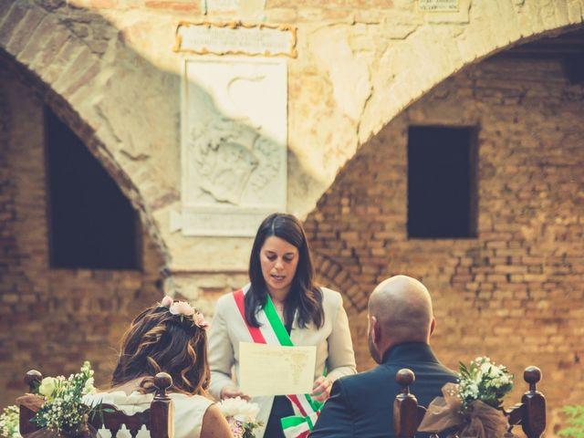 Il matrimonio di Lorenzo e Francesca a Certaldo, Firenze 56