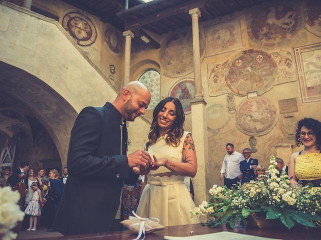 Il matrimonio di Lorenzo e Francesca a Certaldo, Firenze 58