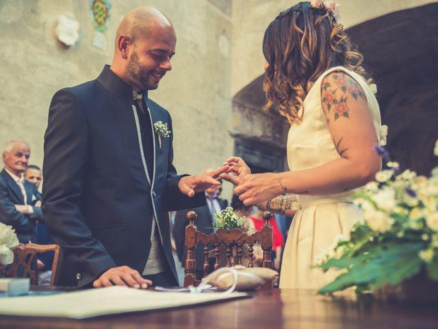 Il matrimonio di Lorenzo e Francesca a Certaldo, Firenze 60
