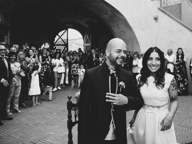 Il matrimonio di Lorenzo e Francesca a Certaldo, Firenze 61