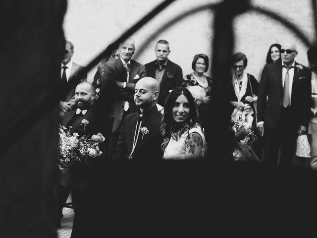 Il matrimonio di Lorenzo e Francesca a Certaldo, Firenze 62