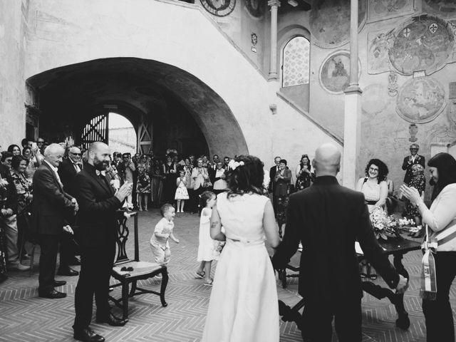 Il matrimonio di Lorenzo e Francesca a Certaldo, Firenze 65