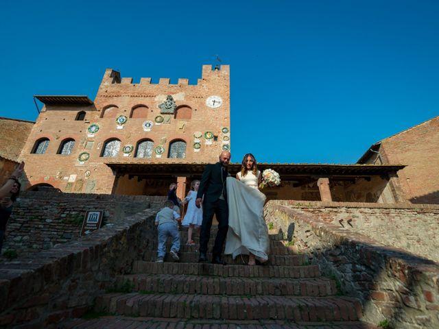 Il matrimonio di Lorenzo e Francesca a Certaldo, Firenze 66