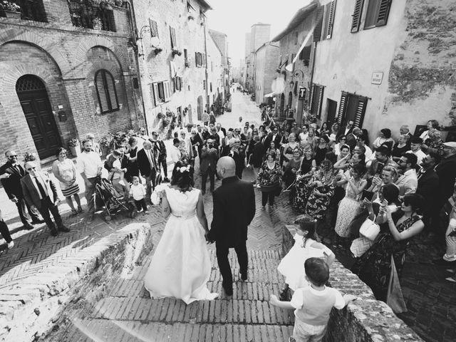 Il matrimonio di Lorenzo e Francesca a Certaldo, Firenze 68