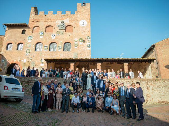 Il matrimonio di Lorenzo e Francesca a Certaldo, Firenze 69