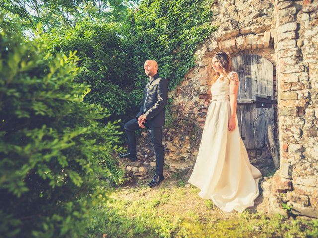 Il matrimonio di Lorenzo e Francesca a Certaldo, Firenze 76