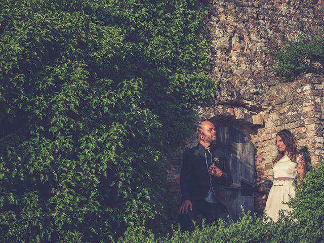 Il matrimonio di Lorenzo e Francesca a Certaldo, Firenze 77