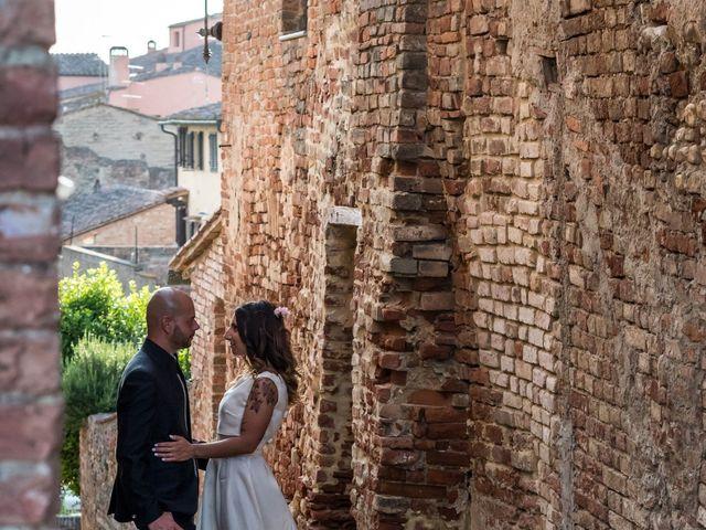 Il matrimonio di Lorenzo e Francesca a Certaldo, Firenze 78