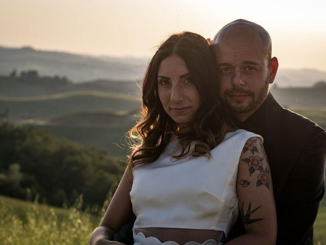 Il matrimonio di Lorenzo e Francesca a Certaldo, Firenze 81