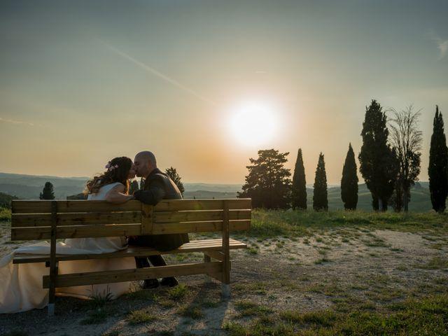 Il matrimonio di Lorenzo e Francesca a Certaldo, Firenze 84