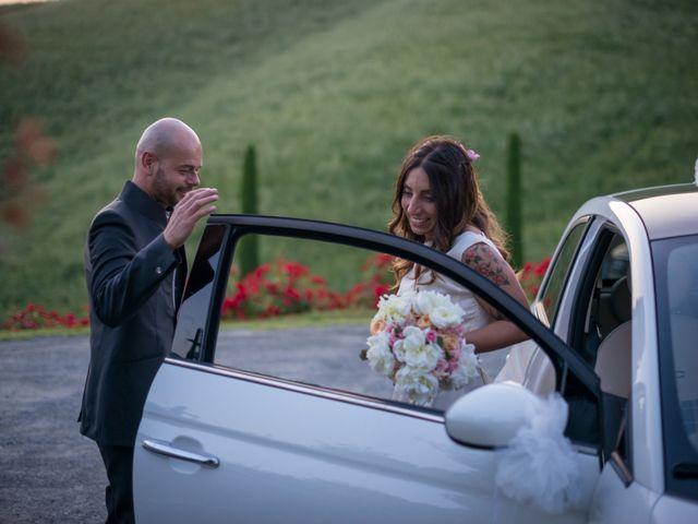 Il matrimonio di Lorenzo e Francesca a Certaldo, Firenze 99