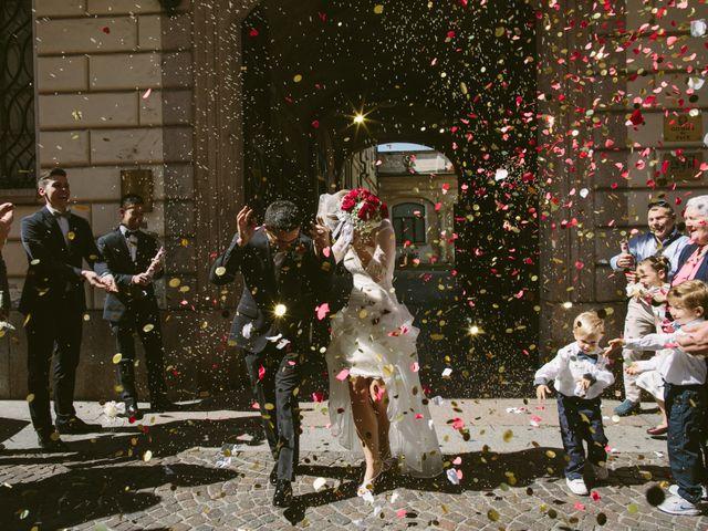 Il matrimonio di Francesco e Julie a Vigevano, Pavia 73