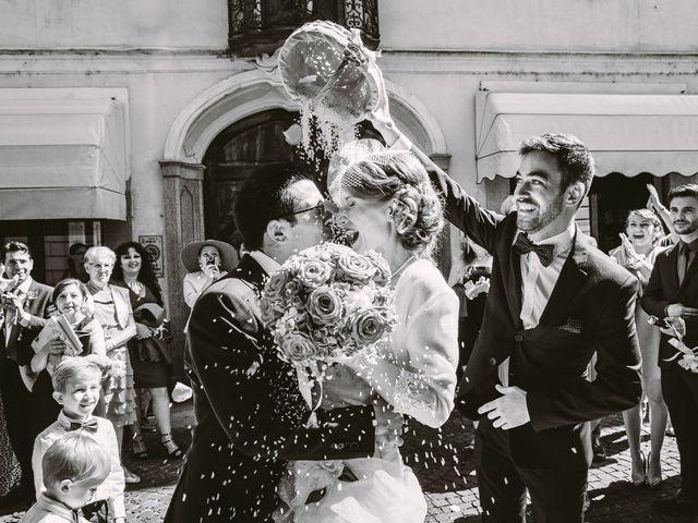 Il matrimonio di Francesco e Julie a Vigevano, Pavia 74