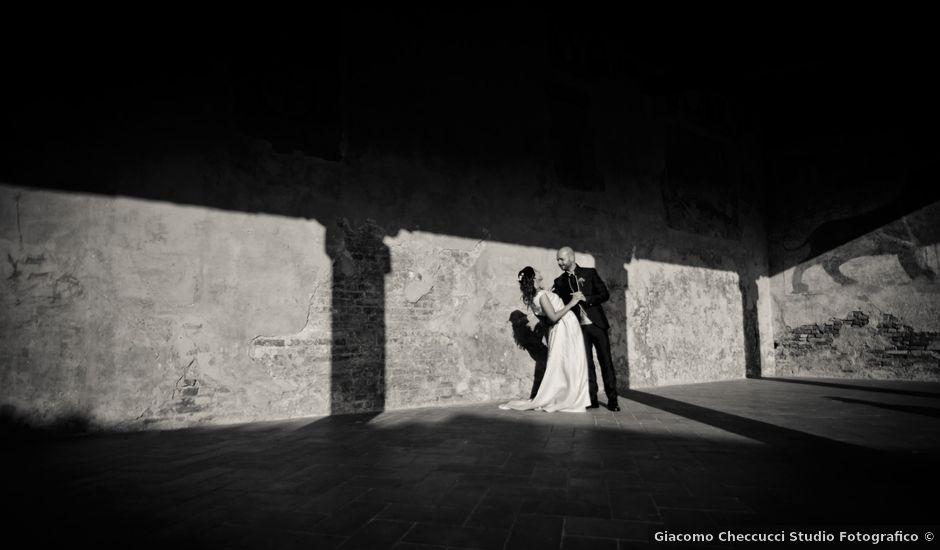 Il matrimonio di Lorenzo e Francesca a Certaldo, Firenze