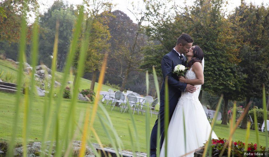 Il matrimonio di Claude e Debora a Pellio Intelvi, Como