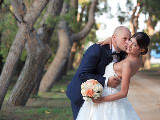 Le nozze di Fabiana e Sergio