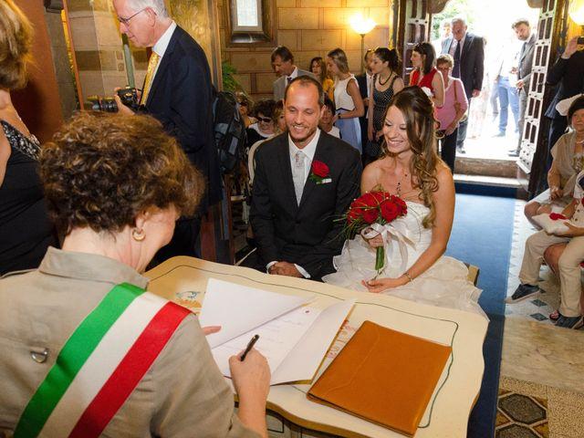 Il matrimonio di Filippo e Chiara a Montegabbione, Terni 5