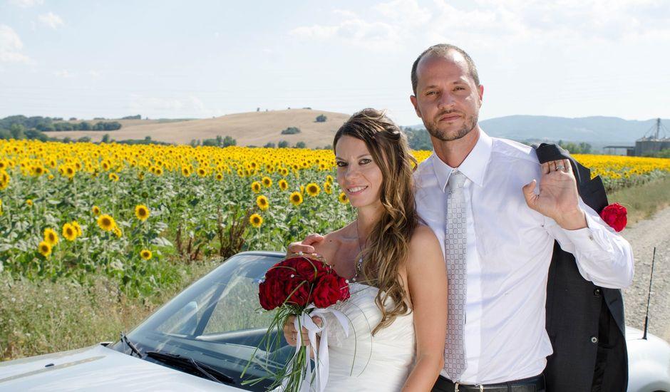Il matrimonio di Filippo e Chiara a Montegabbione, Terni